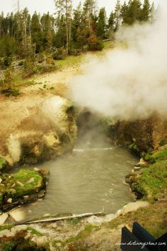 Dragon's Mouth || Yellowstone National Park || Dirt In My Shoes