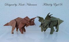 Triceratops and Styracosaurus by EyalR