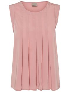 Pretty feminine top from VERO MODA. Wear with denim jeans and a cool bomber for a casual outfit.