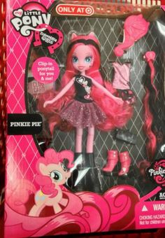 My Little Pony Equestria Girls  Exclusive PINKIE PIE Boutique Doll MLP NEW