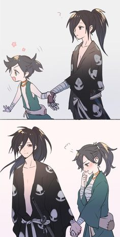 Dororo Shitttt this too cute Anime Art anime art cute Dororo Shitttt Anime Meme, Manga Anime, Fanarts Anime, Anime Boys, Anime Art, Anime Child, Cartoon Cartoon, Anime Love Couple, Cute Anime Couples