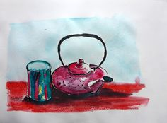MHBD's Blog: Complementary colours September 28, July 25, Urban Sketching, Objects, Colours, Blog, Blogging, Urban Sketchers