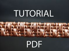 Buy 3 lessons, get another 1 lesson for free! After paying 3 lesson I will send a free to your email. You only need to add a link to the lesson you want in a message to the order. Thank you!!!! In this lesson you will learn how to knit yourself a beautiful weave of wire. The