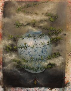 buying new soul, olio su tela, 2012, 50x60