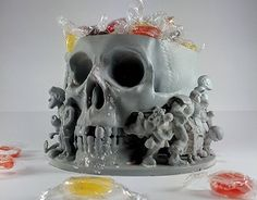 "Check out new work on my @Behance portfolio: ""Skull candy holder"" http://be.net/gallery/37066749/Skull-candy-holder"