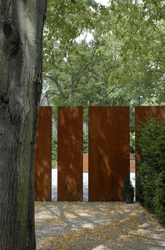"afotw: ""garden fence designed by Filip Van Damme """
