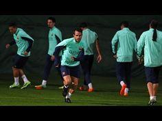 FOOTBALL -  FC Barcelona training session 18/11/13 - http://lefootball.fr/fc-barcelona-training-session-181113-4/