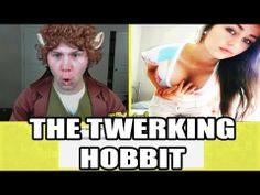 THE TWERKING HOBBIT (Chatroulette Funny Moments)