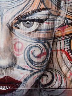 Rone y Phibs en Sidney | street art