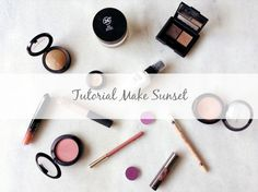 Tutorial Make Sunset | New in Makeup