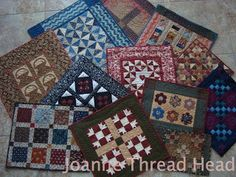 Thread Head: A Year of Small Quilts