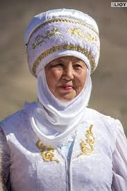 old lady , Kyrgyzstan
