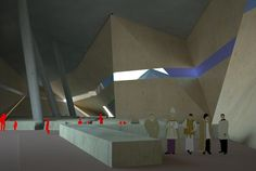 Proposed Miami Cathedral for the Miami Civic Center Competition (2010)