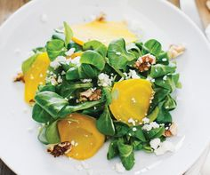 This colorful golden beet salad is certain to win over even the staunchest beet skeptic It comes from Sara Forte, a self-taught vegetarian chef who writes the Sprouted Kitchen blog This beet salad was born of necessity when Ms