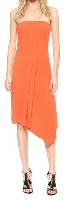 strapless asymmetrical dress http://rstyle.me/n/wdjzapdpe