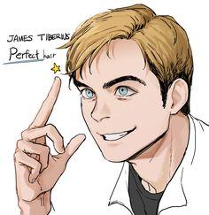 Oh, hi, James-T.-Perfect-Hair