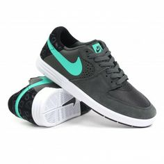 Nike SB Paul Rodriguez 7 (Dark Base Grey/Crystal Mint-Black) Mens Skate Shoes| Ambush Board Co.| $89.99