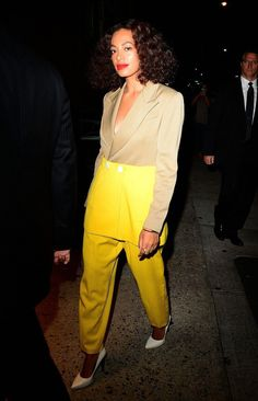Photos : Solange Knowles : Djette Stylée, Elle Fait Sensation À New York !