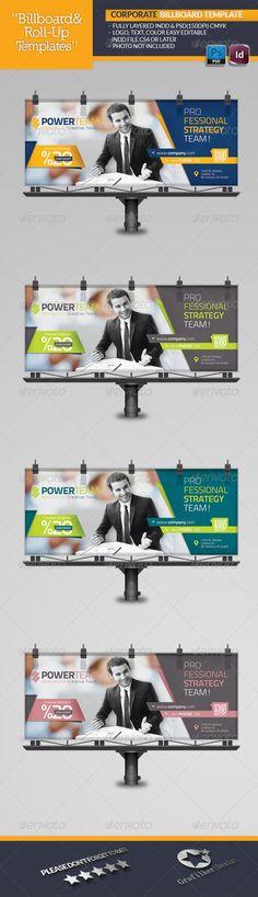 Corporate Billboard Template #design Download: http://graphicriver.net/item/corporate-billboard-template/6506116?ref=ksioks