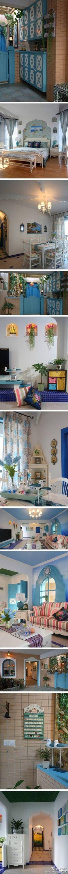Dream blue house