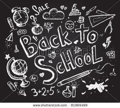 Vector Download » Back to school chalkboard sketch - » Free Vector Graphics free download and share your vector