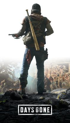 Days Gone by KindratBlack on DeviantArt Wallpapers Games, Gaming Wallpapers, Video Game Posters, Video Game Art, Playstation Games, Xbox Games, Games For Teens, Adult Games, V Games