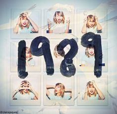 Taylor Swift 1989 edit by Claire Jaques