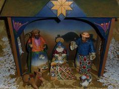 $79.99 obo! 2003 JIM SHORE Enesco 7 Piece Heartwood Creek Nativity Manger. Found on @eBay! http://r.ebay.com/mUHojV