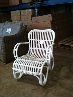 colonial bamboo cane chair
