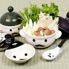 Utensilios de cocina kawaii