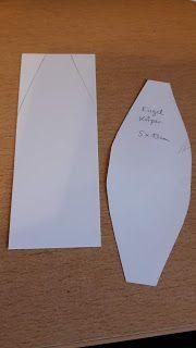 Bastleria - Basteln bis der Arzt kommt: Weihnachtsengel aus Papier