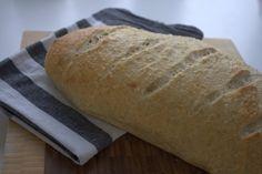 Lækkert koldhævet brød med kærnemælk