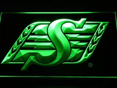 Saskatchewan Roughriders Sport Bar Pub Club Logo Neon Sign Man Cave for sale online Neon Signs Home, Led Neon Signs, Neon Light Signs, Go Rider, House Of Savoy, Saskatchewan Roughriders, Foot Shop, Bar Led, Beer Opener