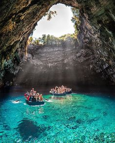 Pin for Later: 10 Reasons to Book Your Next Trip to Greece You Can Enjoy a Boat Ride Through the Melissani Cave