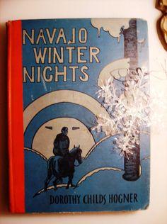 1938 Navaho Winter Nights by KSTigerlily on Etsy