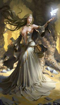Картинки по запросу fantasy priestess