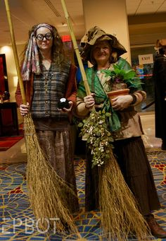 Trelawney and Professor Sprout