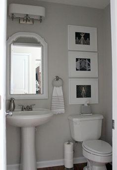 Bathroom ideas Duo Ventures: Half Bath Makeover Spark an Interest in Gardening for Kids with Fun Gar Half Bath Decor, Half Bathroom Decor, Half Bathroom Remodel, Small Bathroom Colors, Bathroom Layout, Downstairs Bathroom, Bathroom Ideas, Bathroom Makeovers, Bathroom Beadboard