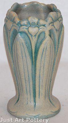 Brush McCoy Matte Ivotint Vase from Just Art Pottery
