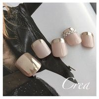 Having short nails is extremely practical. The problem is so many nail art and manicure designs that you'll find online Pretty Toe Nails, Love Nails, Pedicure Designs, Nail Art Designs, Toe Nail Designs For Fall, Feet Nail Design, Uñas Fashion, Summer Toe Nails, Manicure Y Pedicure