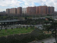Vista desde el parque de la Elipa, el primer barrio donde viví sola -MADRID