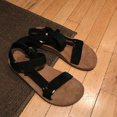 b56ff3a3a Shop Men s Teva Black Tan size 7 Sandals   Flip-Flops at a discounted price  at Poshmark.