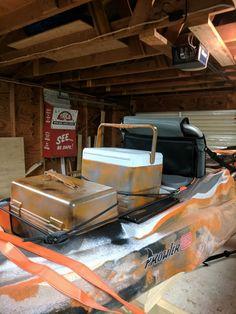 Kayak fishing storage