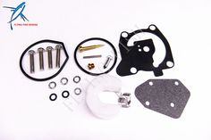 Outboard Engine Carburetor Repair Kit 66T-W0093-00-00 For yamaha 40HP Boat Motor E40X, Free Shipping