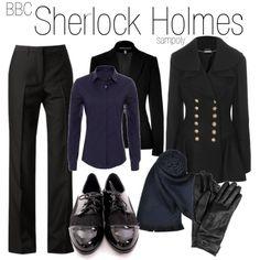 """Sherlock Holmes"" by sampoly on Polyvore"