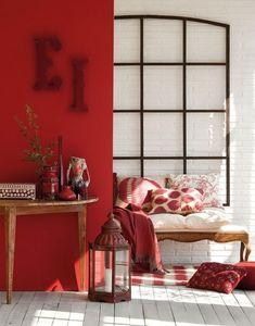 Tips to get a magazine #redhallforhome #halldesignhome #colorfulhall