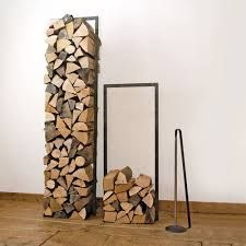 You want to build a outdoor firewood rack? Here is a some firewood storage and creative firewood rack ideas for outdoors. Indoor Firewood Rack, Firewood Holder, Firewood Stand, Log Store, Log Holder, Fireplace Hearth, Fireplaces, Wood Holder For Fireplace, Fireplace Tools