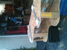 I used two heavy duty adjustable wheel systems.