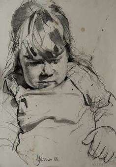 Harriet, 2000  Charcoal on Paper | Andrew James