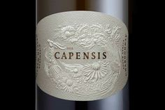 Capensis 100% Chardonnay South Africa - #Embossing